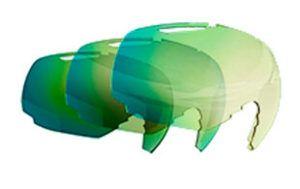 Lente Bollé Modulator Green Emerald S1-3