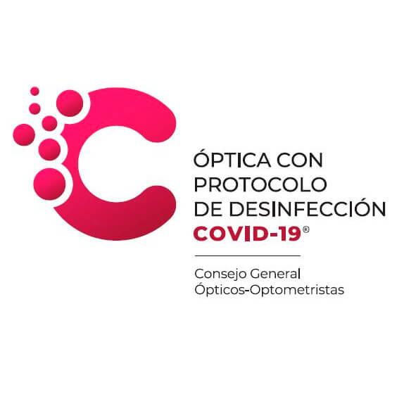 Óptica con protocolo de desinfección COVID-19